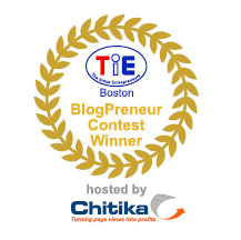 Blogpreneur contest winner